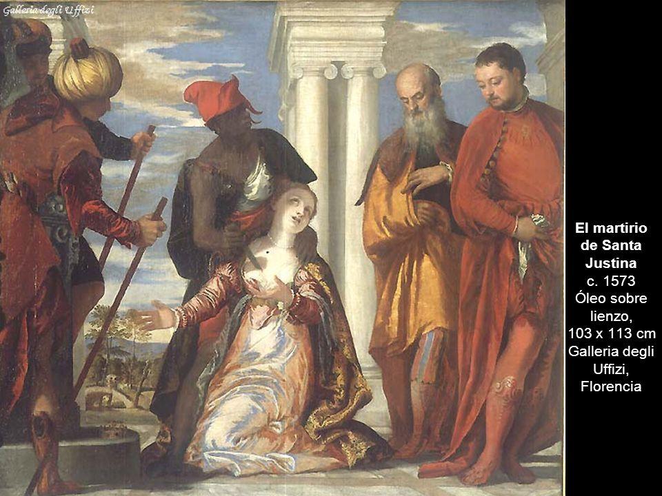 El martirio de Santa Justina c