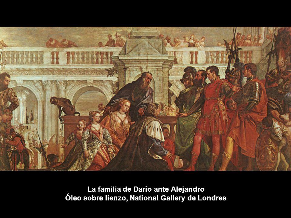 La familia de Darío ante Alejandro Óleo sobre lienzo, National Gallery de Londres