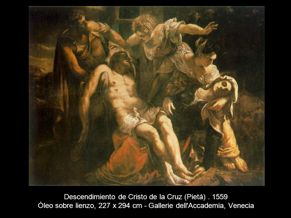 Descendimiento de Cristo de la Cruz (Pietá)