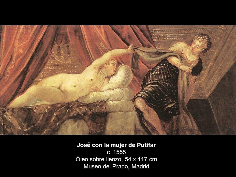 José con la mujer de Putifar c