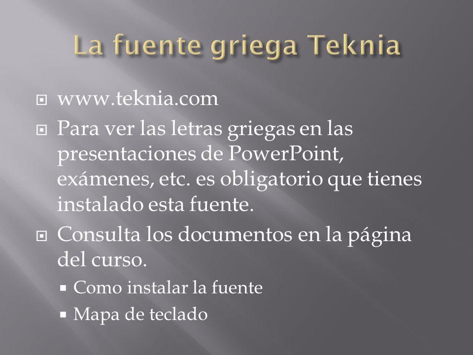 La fuente griega Teknia