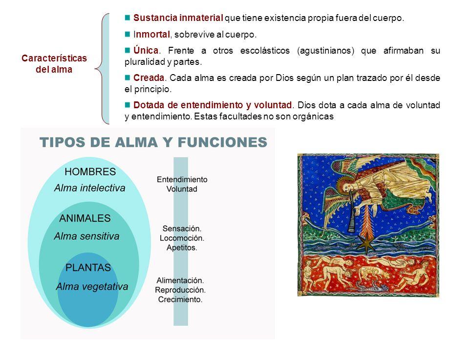 Características del alma