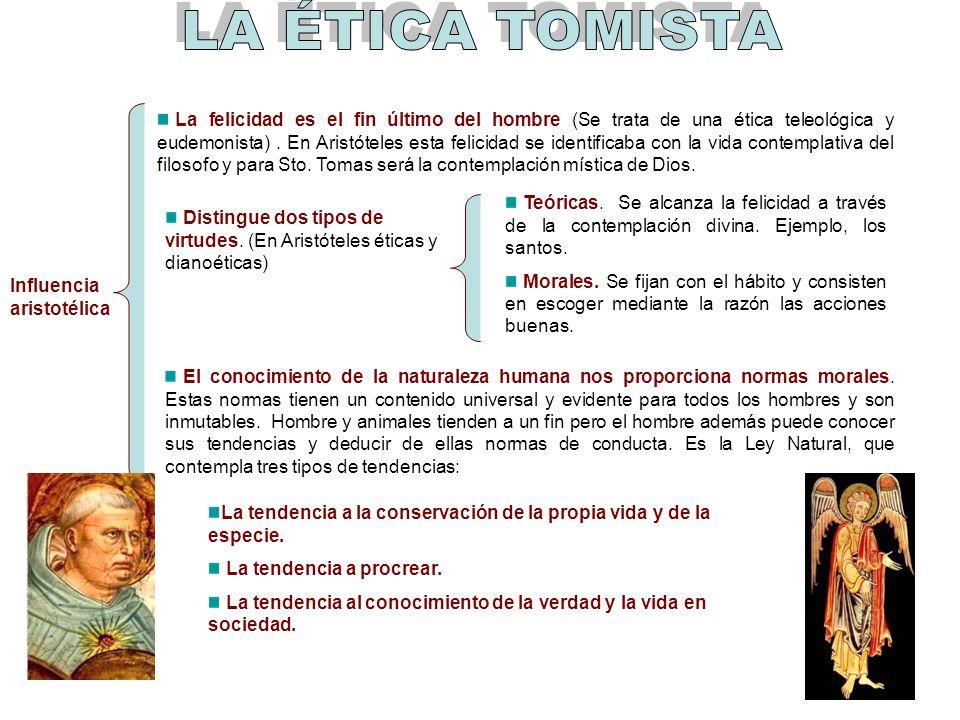 LA ÉTICA TOMISTA