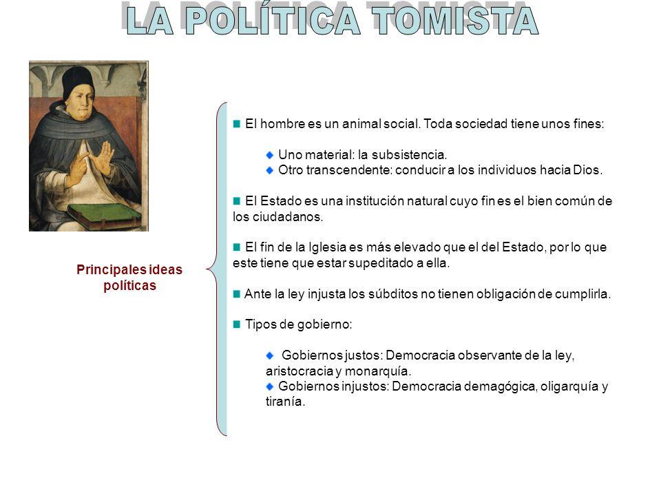 Principales ideas políticas