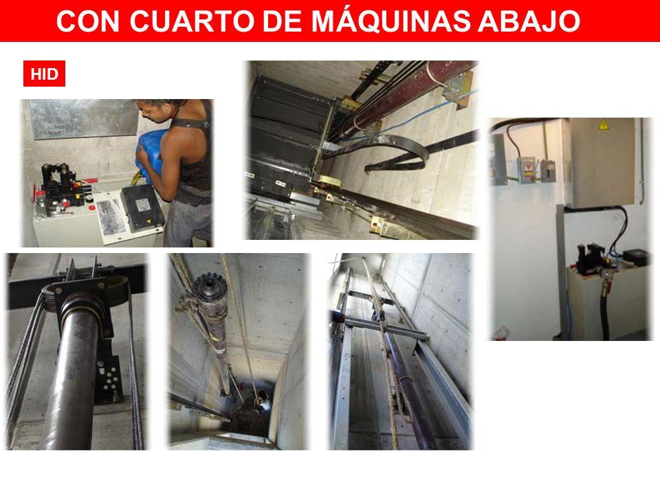 CON CUARTO DE MÁQUINAS ABAJO