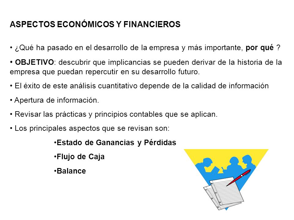 ASPECTOS ECONÓMICOS Y FINANCIEROS