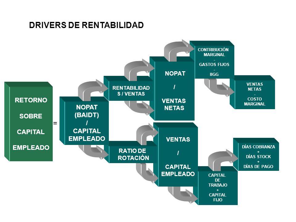 DRIVERS DE RENTABILIDAD