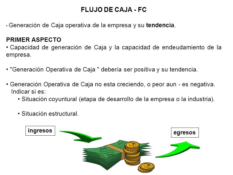 FLUJO DE CAJA - FC PRIMER ASPECTO
