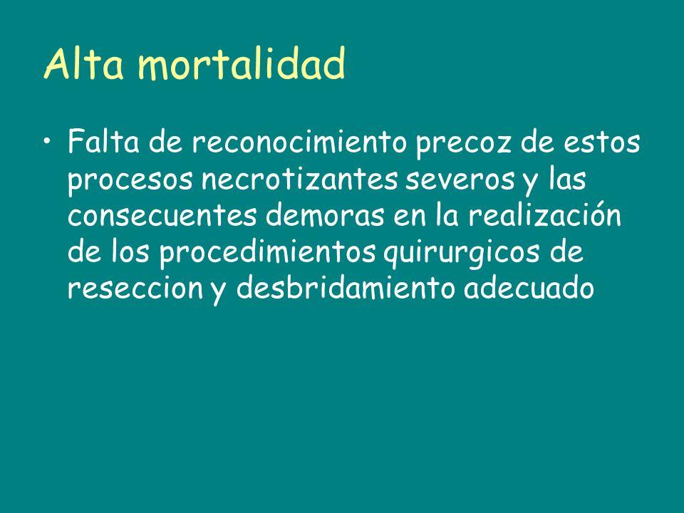 Alta mortalidad