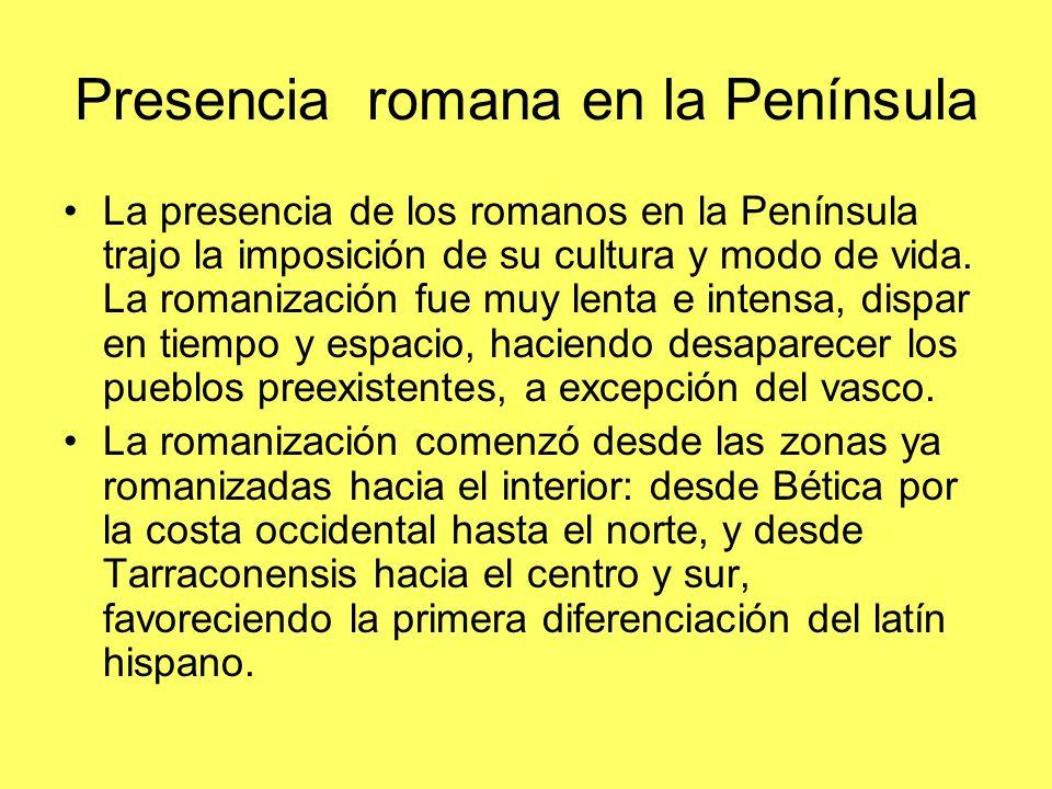 Presencia romana en la Península