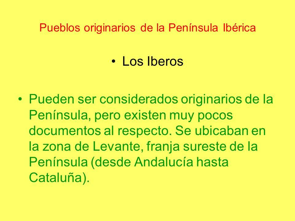Pueblos originarios de la Península Ibérica
