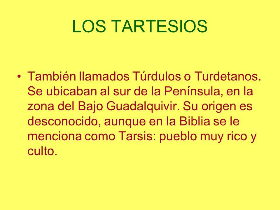 LOS TARTESIOS