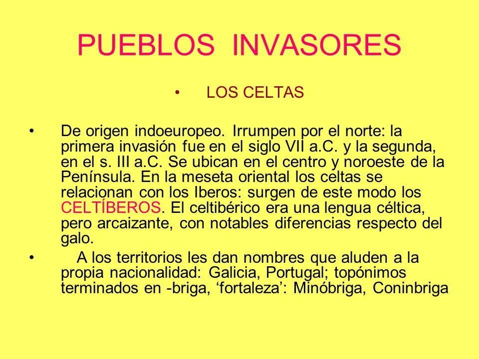PUEBLOS INVASORES LOS CELTAS