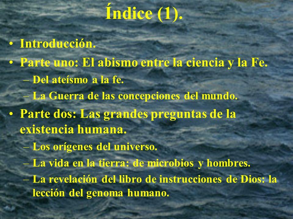 Índice (1). Introducción.