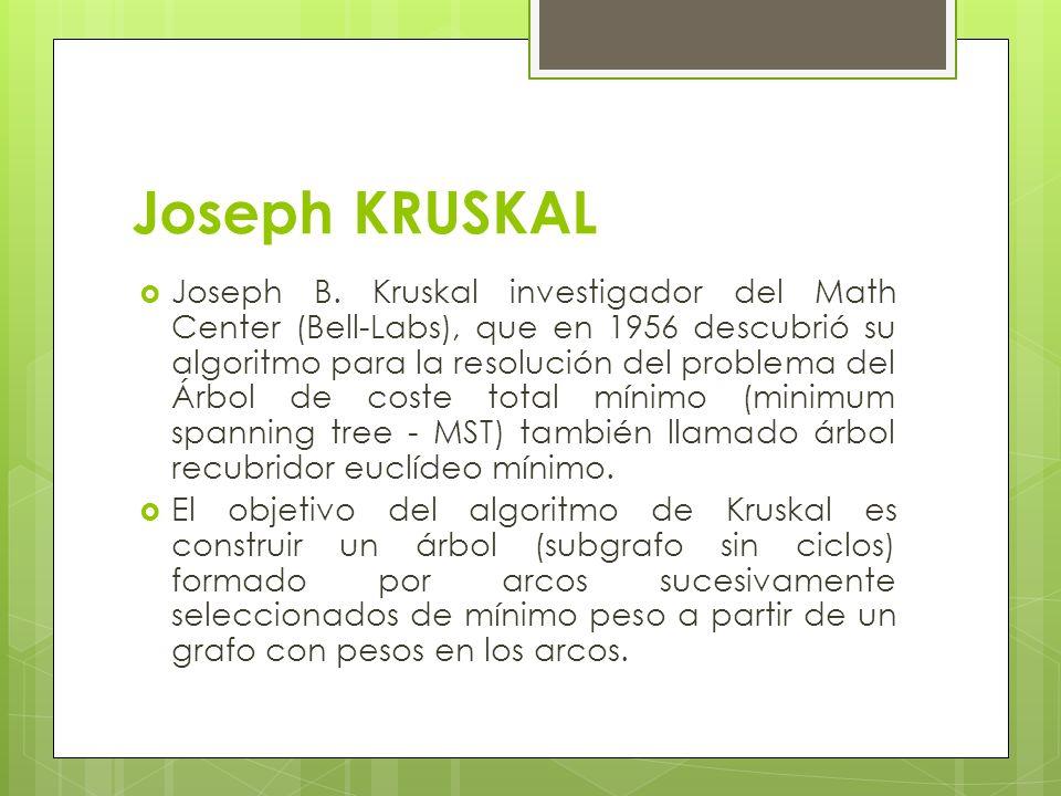 Joseph KRUSKAL