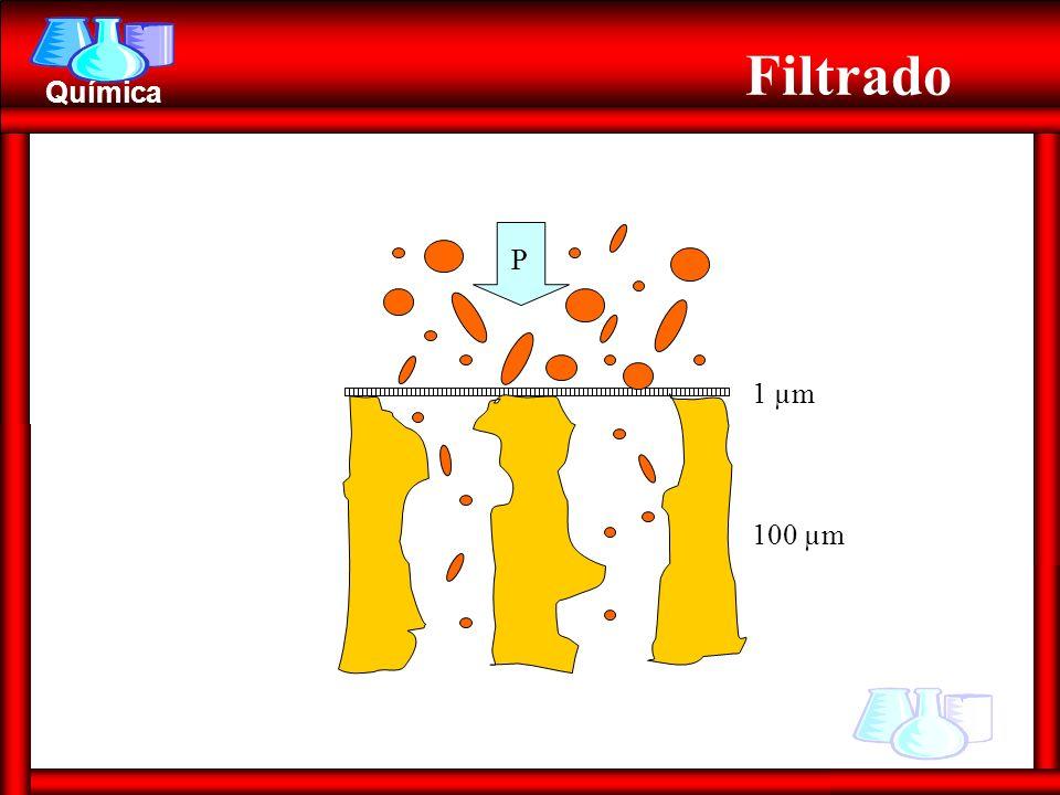 Filtrado 1 µm 100 µm P