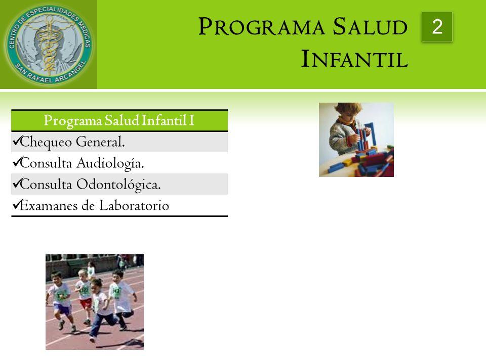 Programa Salud Infantil