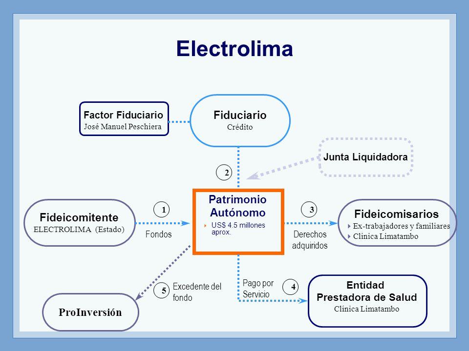 Electrolima Fiduciario Patrimonio Autónomo Fideicomisarios