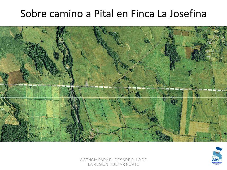 Sobre camino a Pital en Finca La Josefina