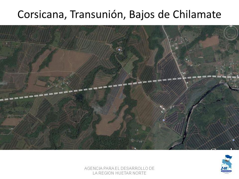 Corsicana, Transunión, Bajos de Chilamate