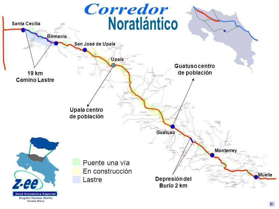 Guatuso centro de población Upala centro de población