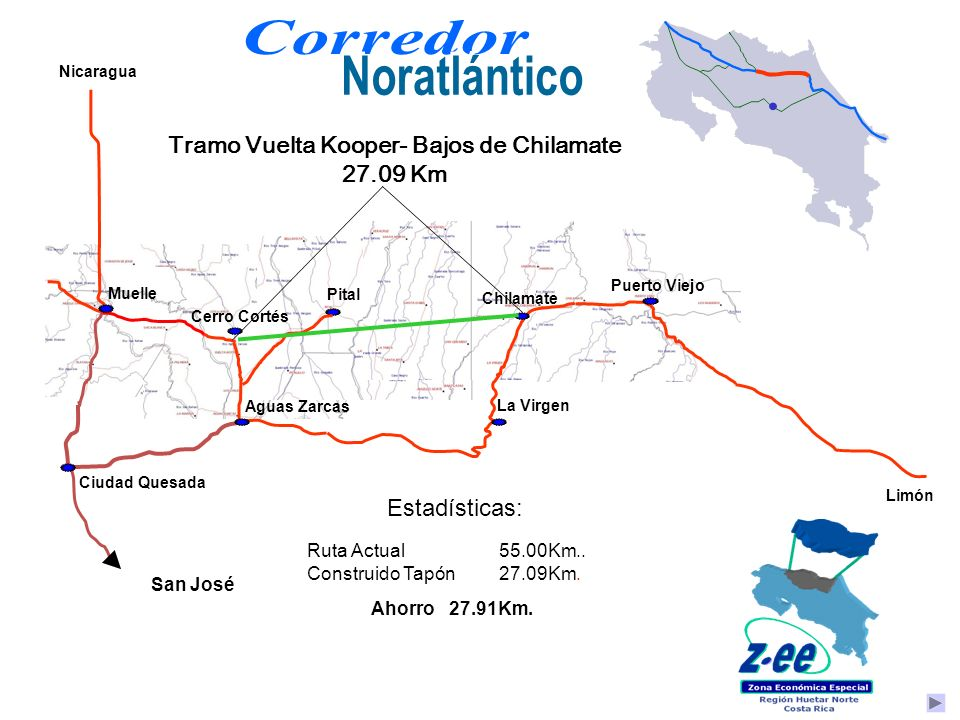 Tramo Vuelta Kooper- Bajos de Chilamate