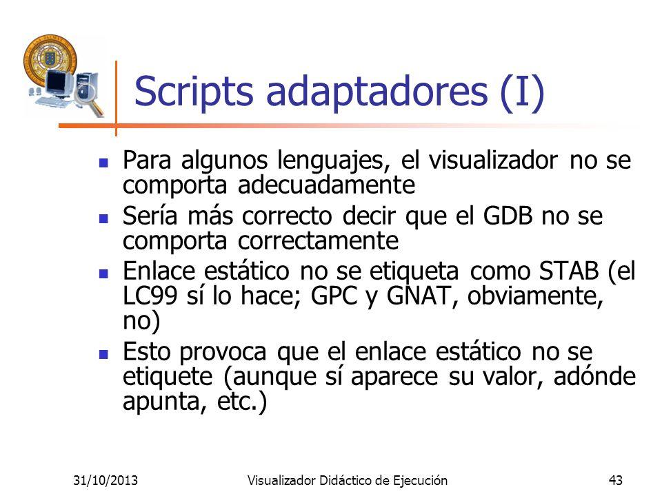 Scripts adaptadores (I)