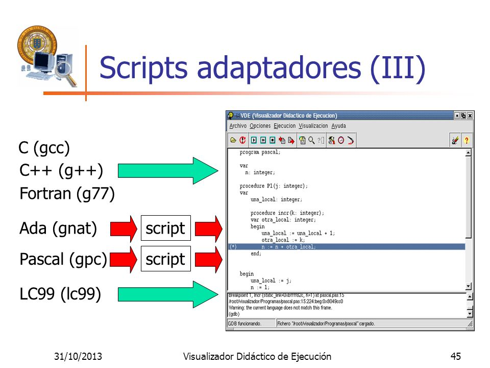 Scripts adaptadores (III)
