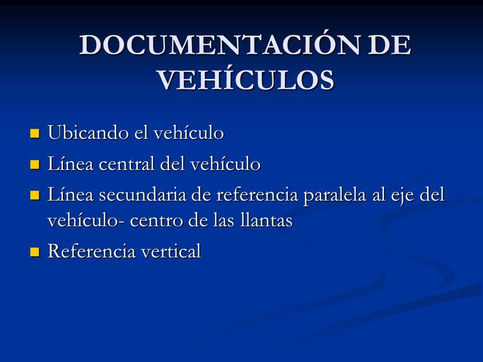 DOCUMENTACIÓN DE VEHÍCULOS