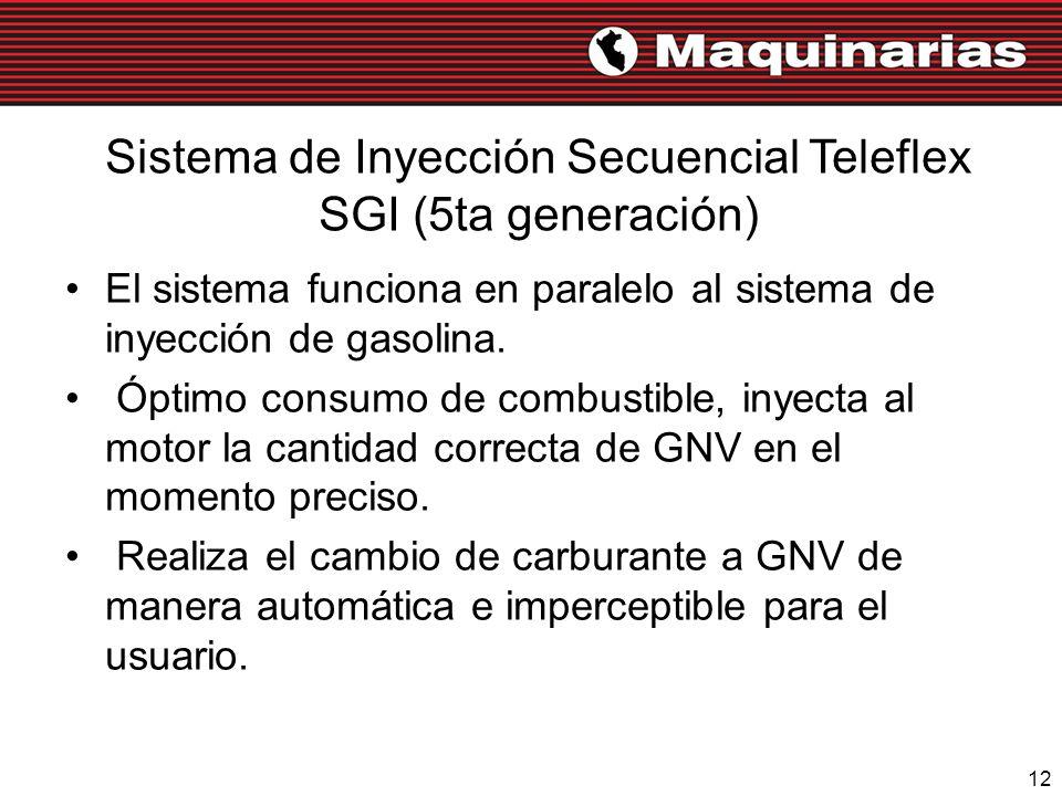 Sistema de Inyección Secuencial Teleflex SGI (5ta generación)