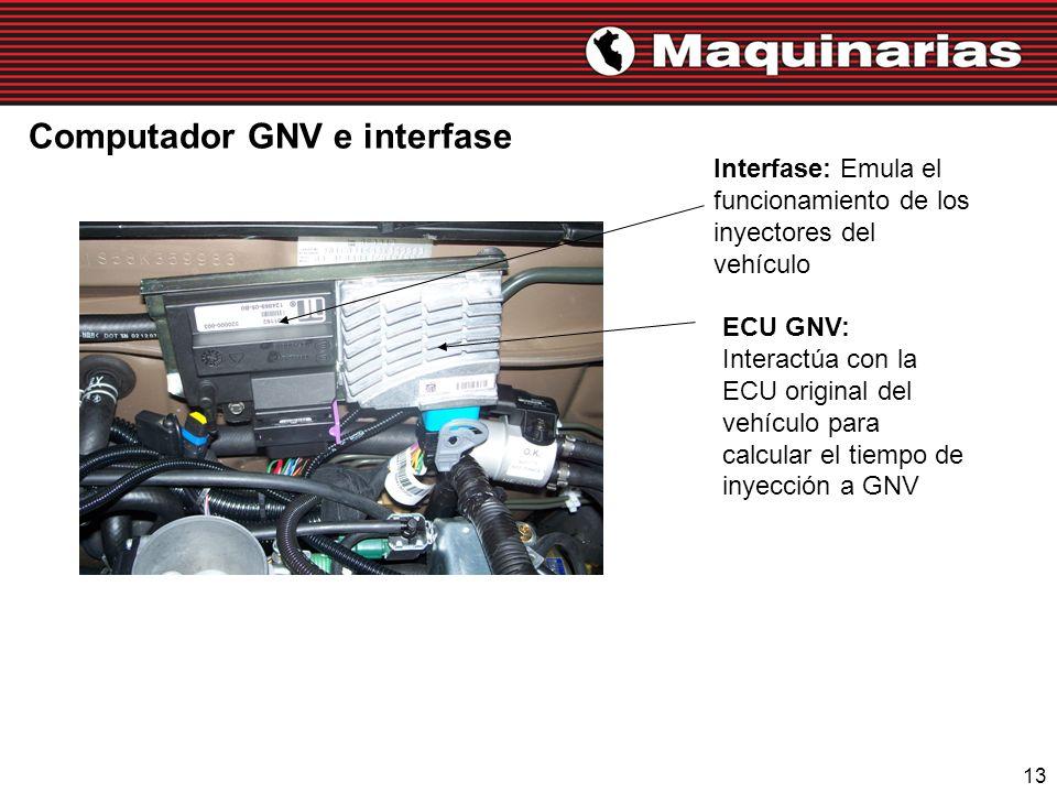 Computador GNV e interfase