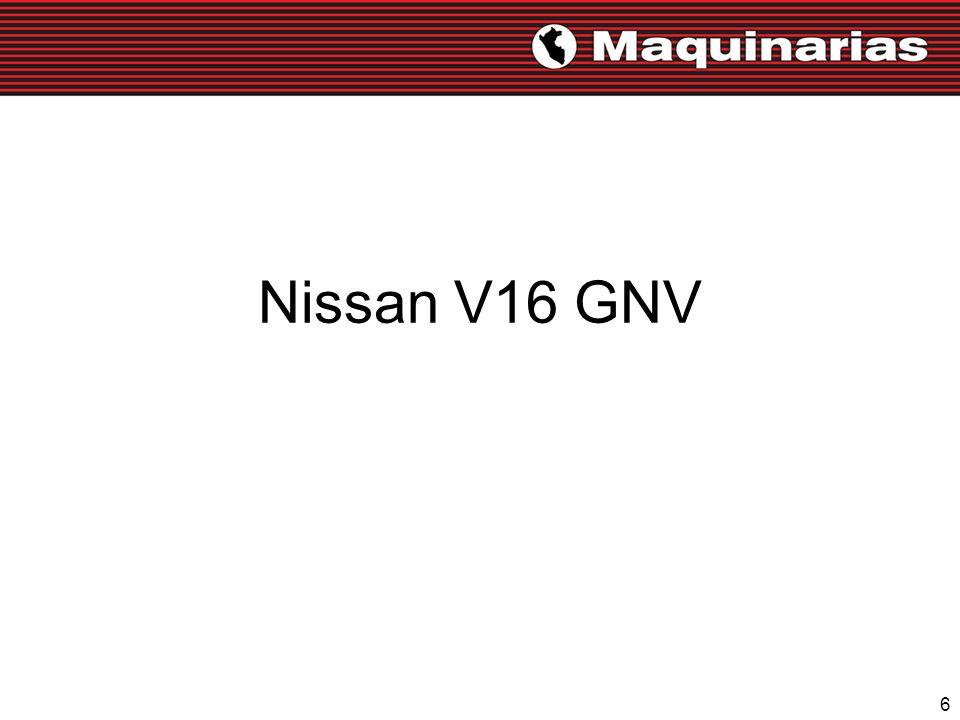 Nissan V16 GNV