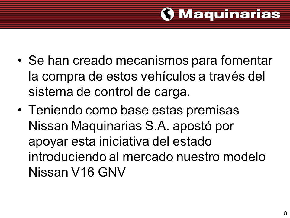 Se han creado mecanismos para fomentar la compra de estos vehículos a través del sistema de control de carga.