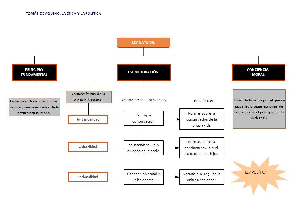 Características de la esencia humana.