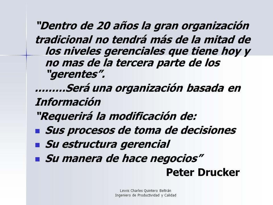 Lewis Charles Quintero Beltrán Ingeniero de Productividad y Calidad