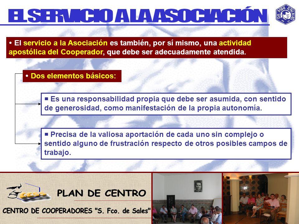 EL SERVICIO A LA ASOCIACIÓN