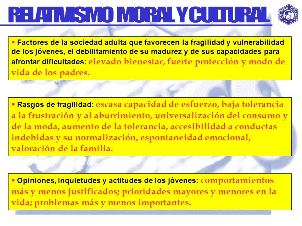 RELATIVISMO MORAL Y CULTURAL