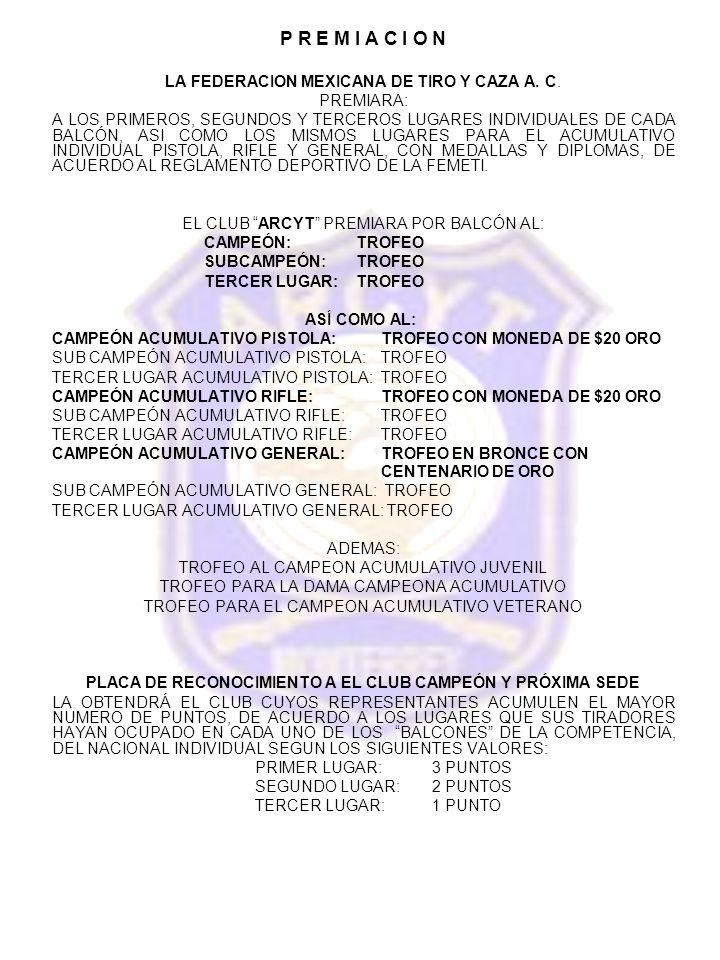 PLACA DE RECONOCIMIENTO A EL CLUB CAMPEÓN Y PRÓXIMA SEDE