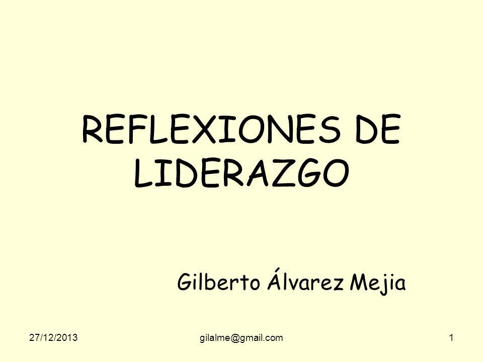 REFLEXIONES DE LIDERAZGO