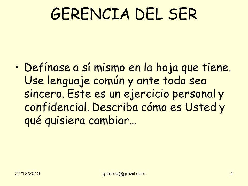 GERENCIA DEL SER