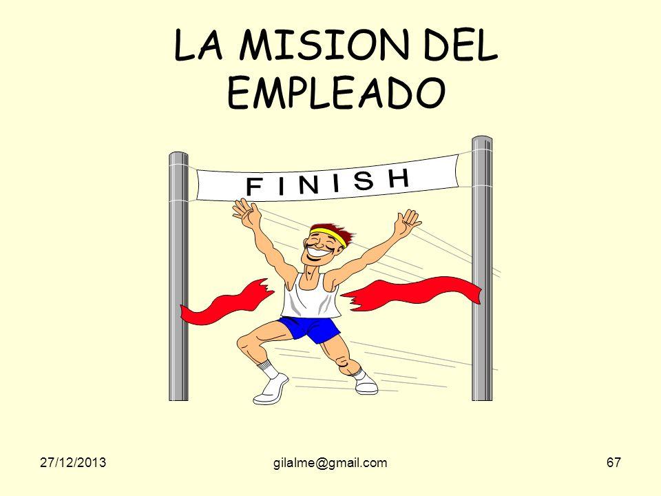 LA MISION DEL EMPLEADO 23/03/2017 gilalme@gmail.com