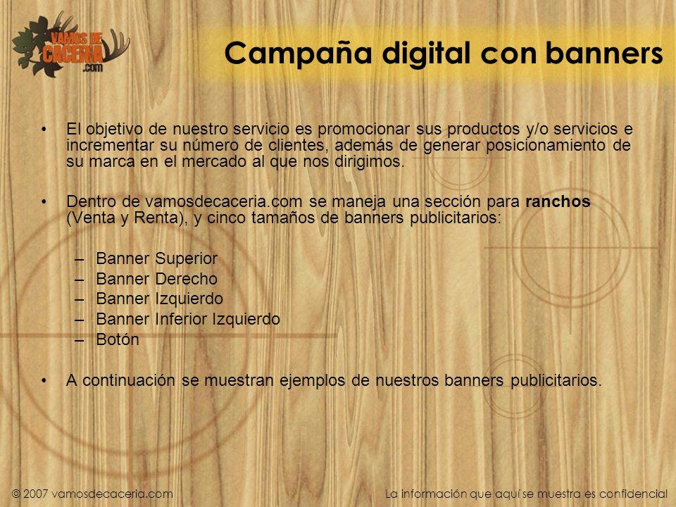 Campaña digital con banners