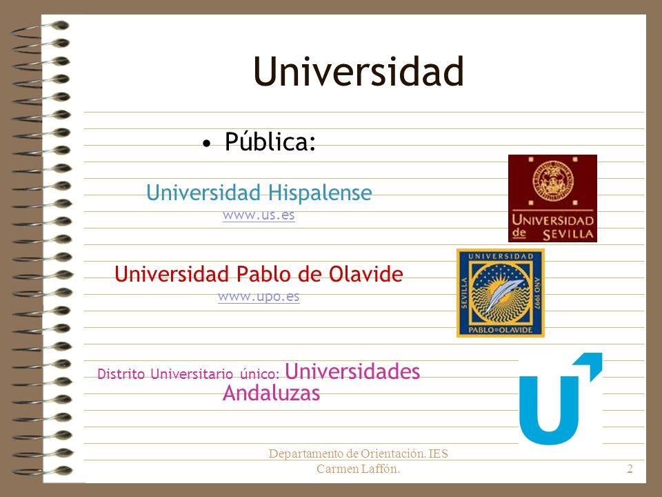 Universidad Pública: Universidad Hispalense