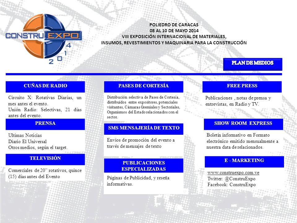 VIII EXPOSICIÓN INTERNACIONAL DE MATERIALES,