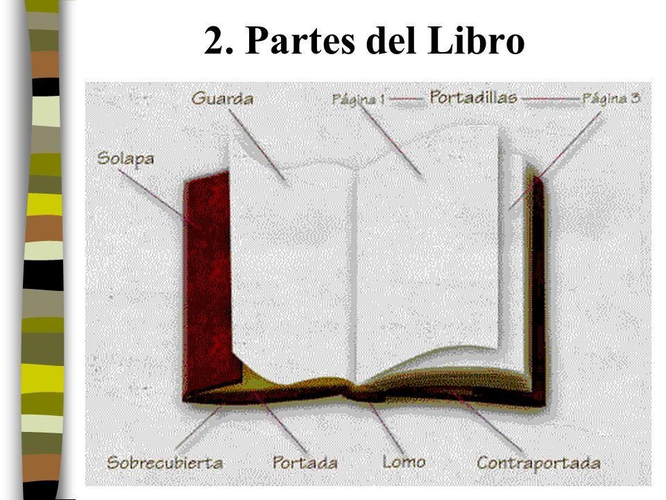 2. Partes del Libro