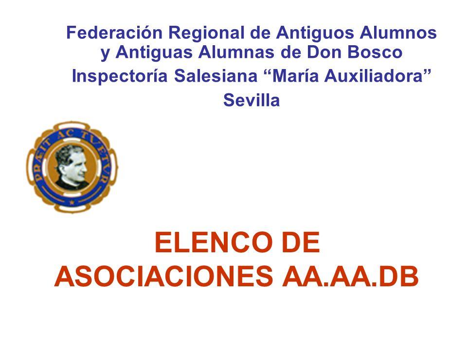 ELENCO DE ASOCIACIONES AA.AA.DB