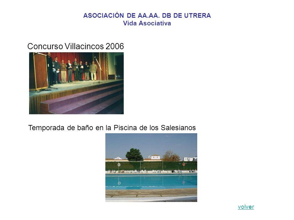 ASOCIACIÓN DE AA.AA. DB DE UTRERA Vida Asociativa