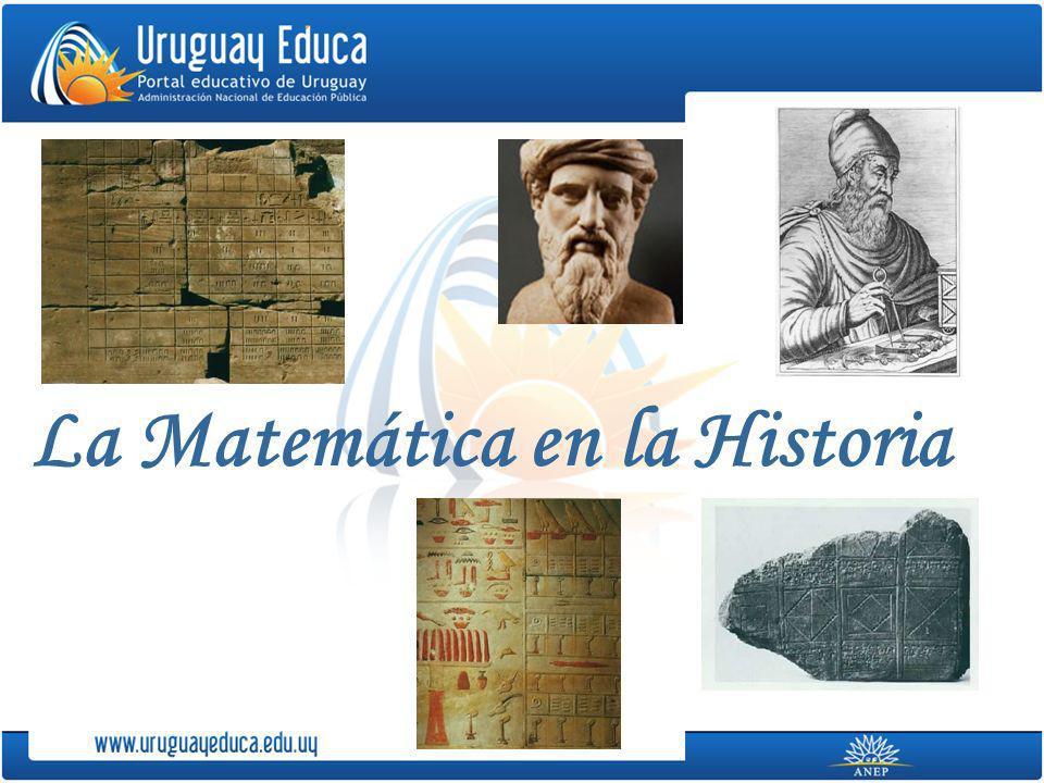 La Matemática en la Historia