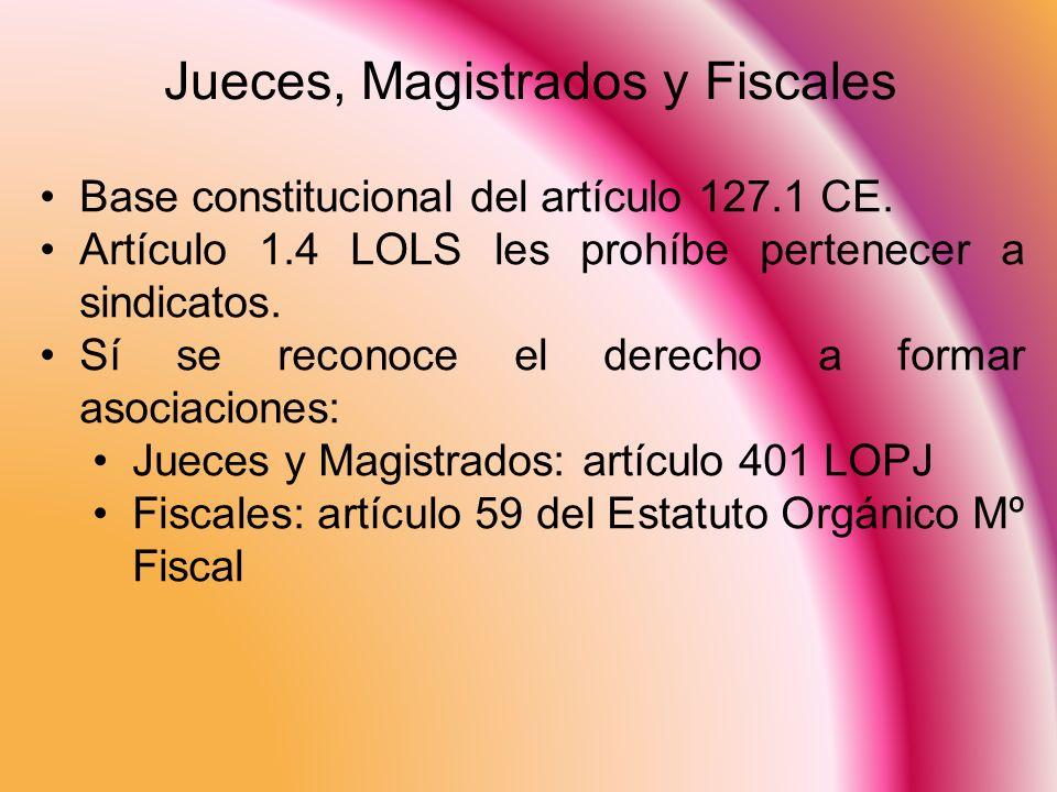 Jueces, Magistrados y Fiscales