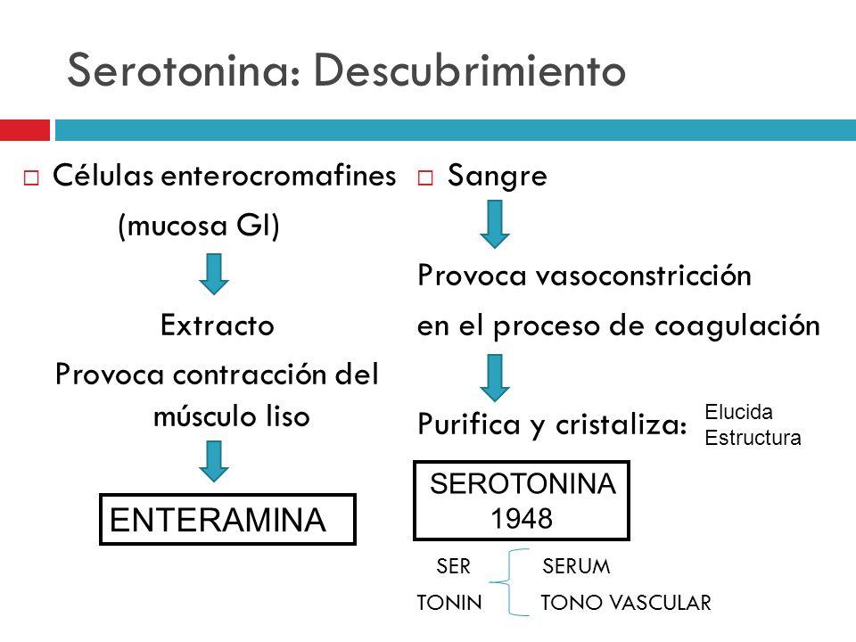 Serotonina: Descubrimiento